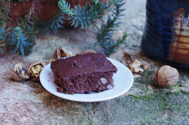 Brownie aux haricots azuki